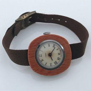 Vintage Rare Timex Ladies Watch Hand Winding Mech